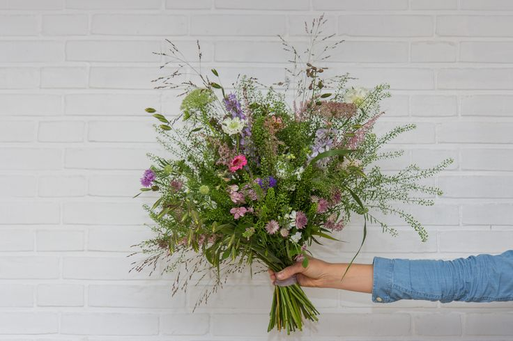 Dreamy wildflower bouquet Oct 2016