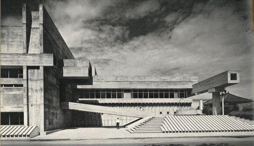 rudygodinez:  Arata Isozaki, Library at Oita, (1966)