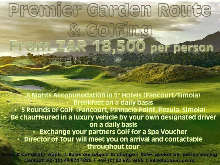 Premier Garden Route & Golfing