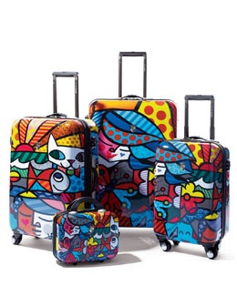 -3GH1 Heys Britto Garden Luggage Collection