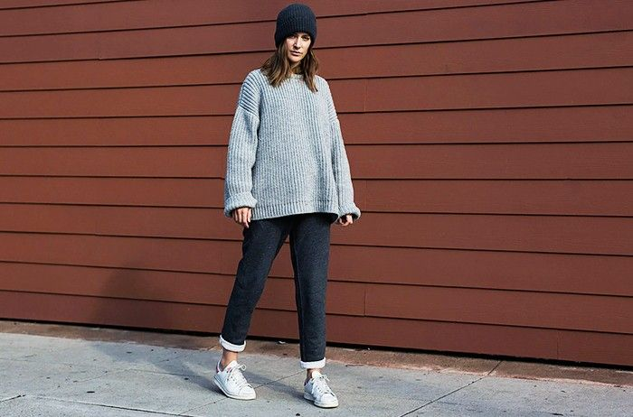 9 Cozy Outfits You'll Wear Over and Over Again via @WhoWhatWearUK