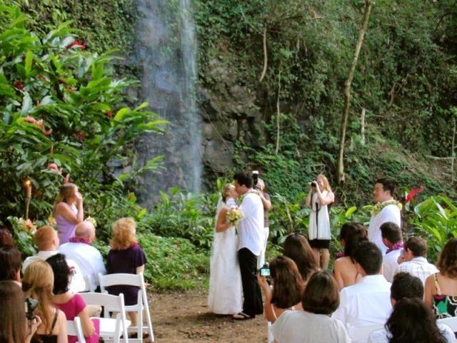 Kauai Waterfall Weddings & Events