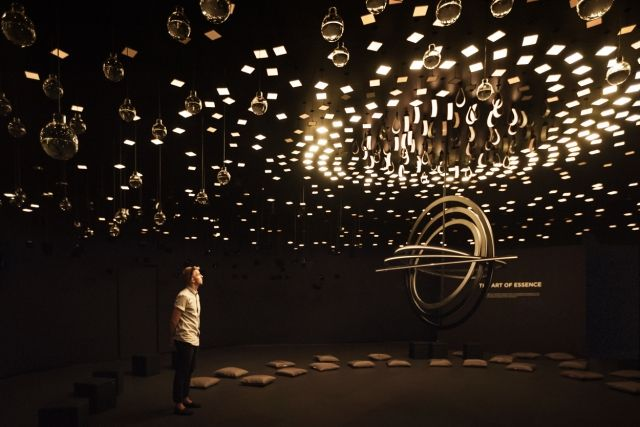 Световая инсталляция «Pixel Constellation» от Jason Bruges Studio