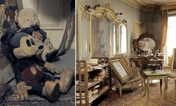 Inside the Paris apartment untouched for 70 years: Treasure trove finally revealed after owner locked up and fled at outbreak of WWII