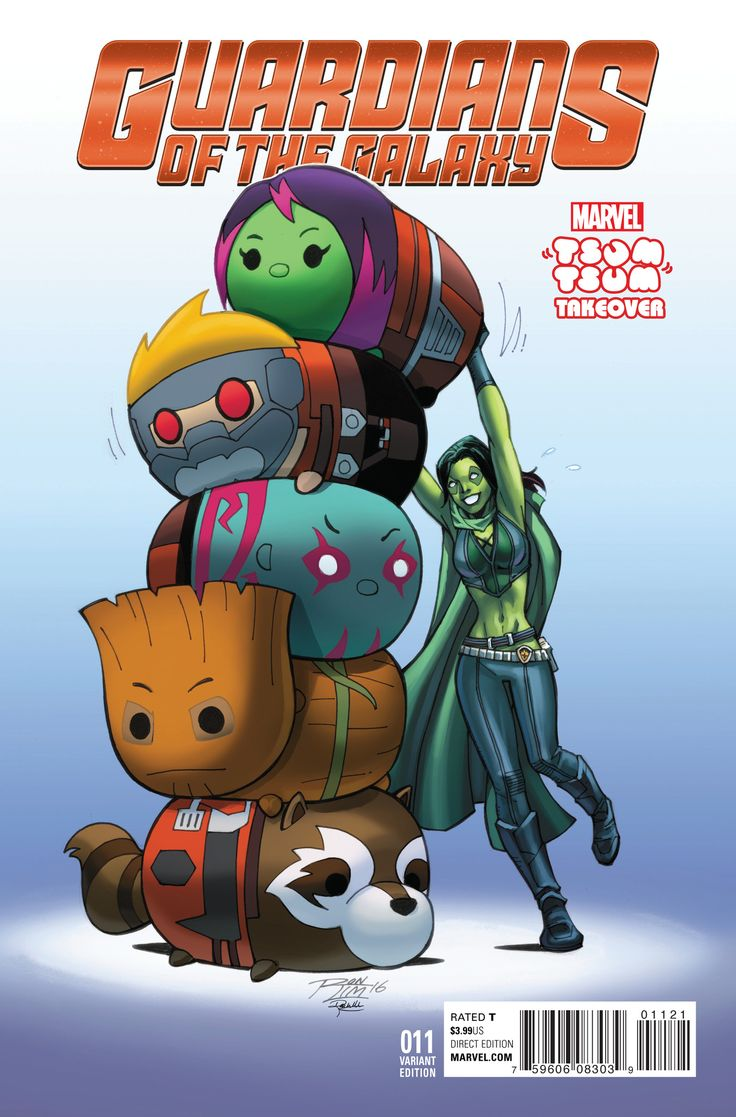 Guardians of the Galaxy (2015) Issue #11 Tsum Tsum Takeover Variant
