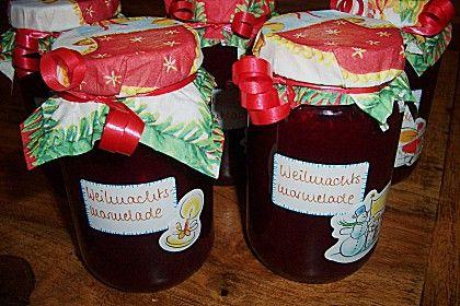 Resis Weihnachtsmarmelade, ein raffiniertes Rezept aus der Kategorie Haltbarmachen. Bewertungen: 12. Durchschnitt: Ø 4,2.