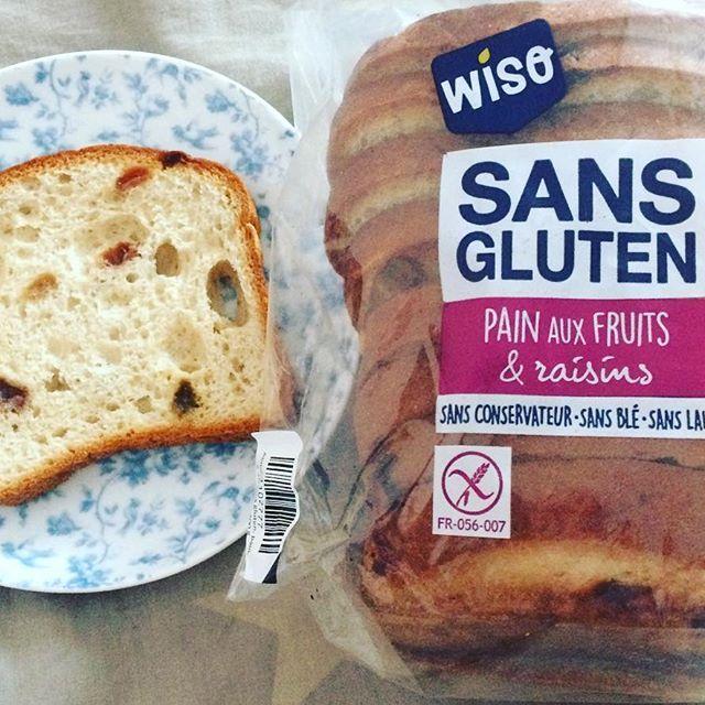 🍞 #painauxraisins #sansglutensanslait #glutenfree #dairyfree 👍🏻 #yummy #pornfood #miam #wiso 😋