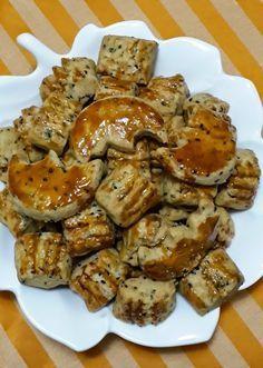 Damak Tadı: Çörek Otlu Tuzlu Kurabiyeler