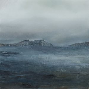 Mark Spray Redeemed Oil and mixed media on canvas 80x80cm
