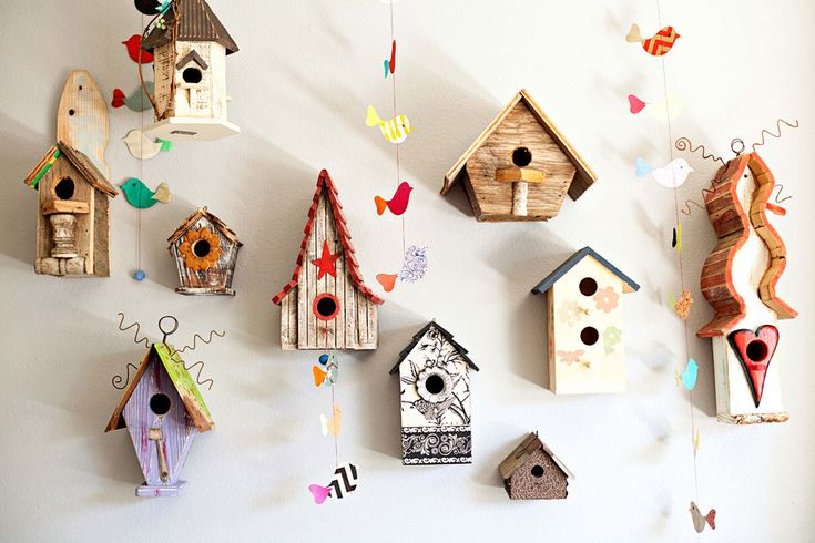 charming birdhouses