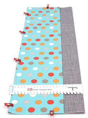 Idée couture - Sac à langer avec fermeture Loxx - buttinette - loisirs créatifs