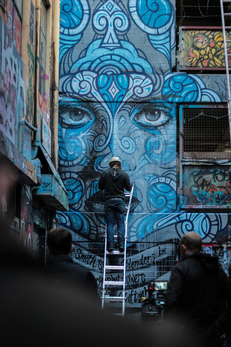 lwm-photography:  Rone painting in Hosier Lane, Melbourne.Canon EOS 550D,50mm f/1.8 lens