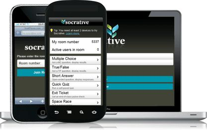 Interrogez vos élèves en direct sur leurs dispositifs numériques: smartphones, tablettes ou ordinateurs.