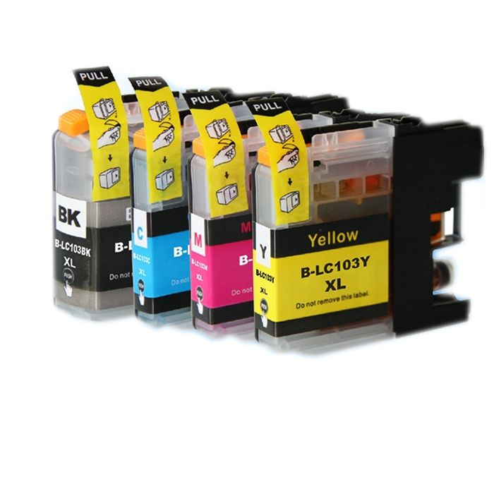13.19$  Watch now - http://ali7qg.shopchina.info/go.php?t=32805527426 - for brother lc103 ink cartridge for brother DCP-J152W MFC-J245 MFC-J285DW MFC-J450DW MFC-J470DW MFC-J475DW printer 13.19$ #buyonline