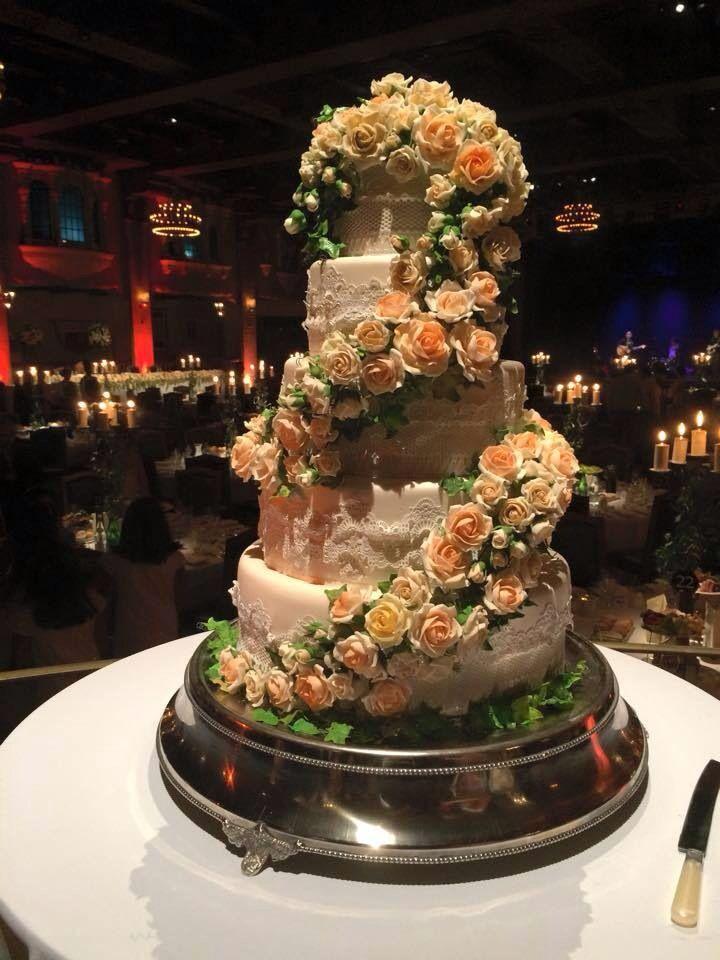 Cake on show at Plaza Ballroom