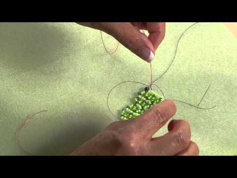 Learn How to Add New Beading Thread with a Slipknot from Melanie Potter  ~ Seed Bead Tutorials