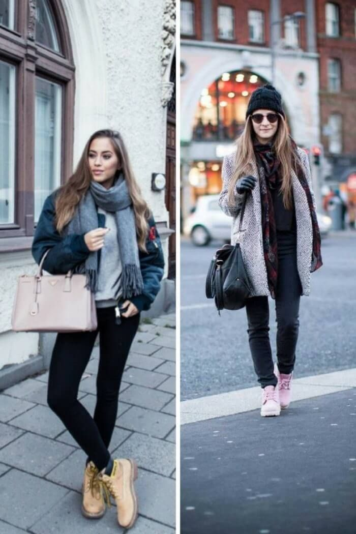 How Women Should Wear Timberland Boots in 2019-2020 - Trends Fashion, Women Dress, Hairstyle, Wedding ideas