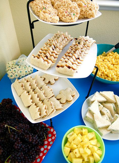Good Eats for Tea Party or Princess Party!