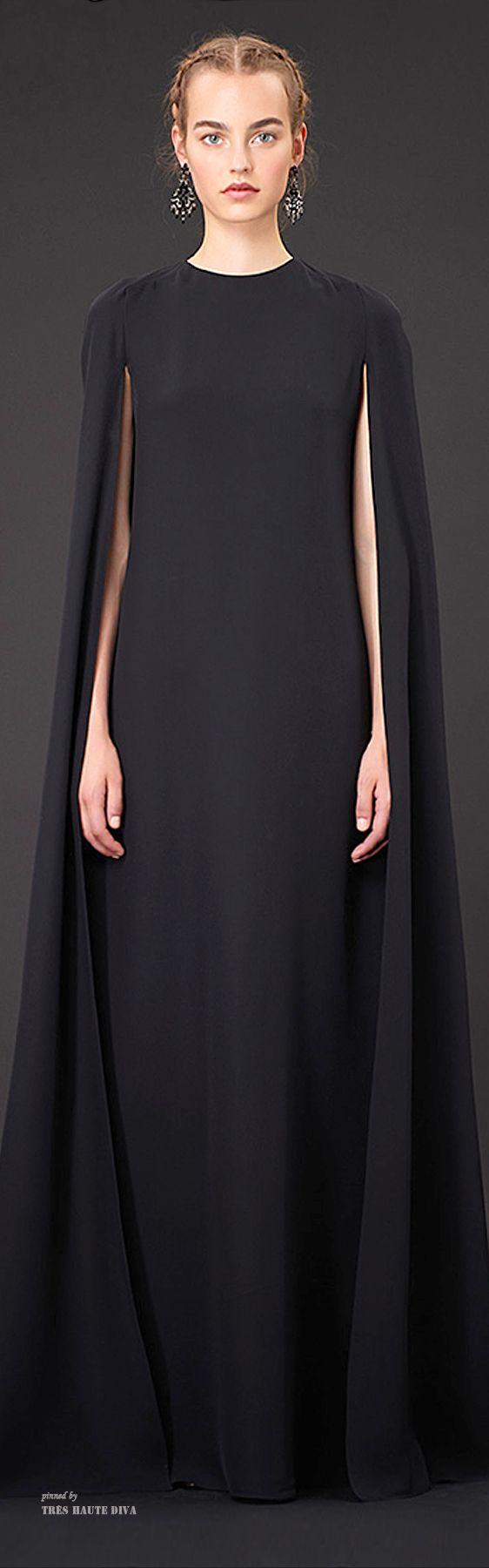 Valentino Resort 2015-- Make a great silhouette statement.  SilhouettesbyCindi.com Valentino silhouette!  Chic fashion silhouettes!