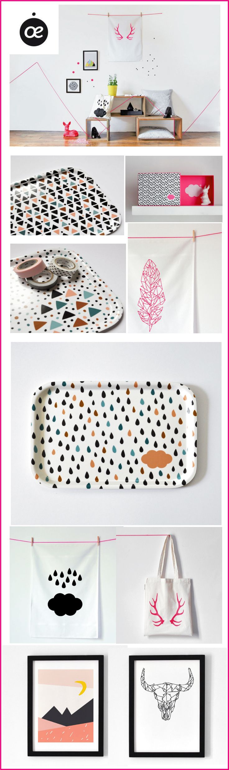 oelwein-totebags,-linge-de-maison- plateaux- affiches chiara stella home