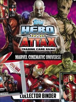 Hero Attax Marvel Cinematic Universe Trading Cards