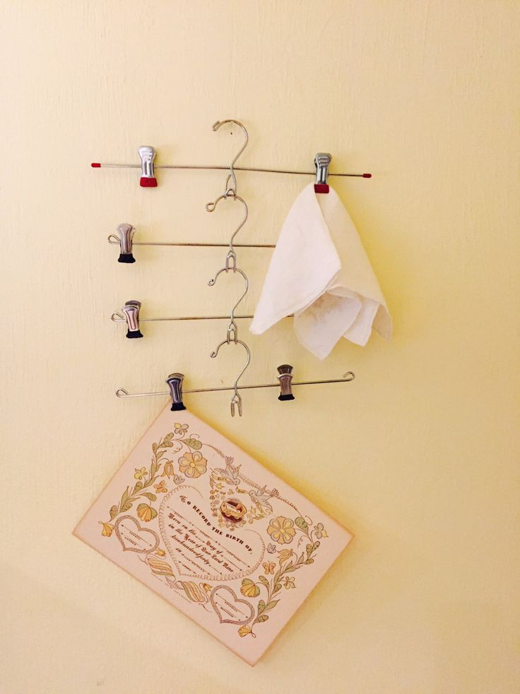 Metal Pant or Skirt Hangers with Adjustable Clips, Closet Organizer, Display Rack by missenpieces on Etsy
