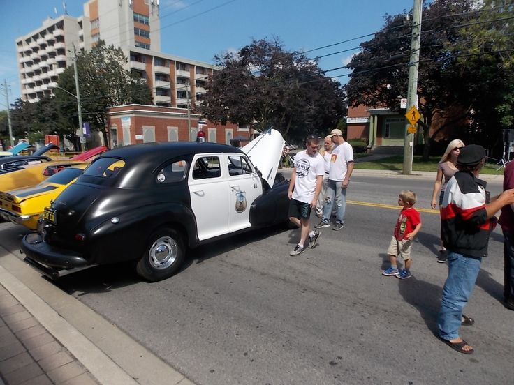 1948 Sheriff Car at the Wheels on the Danforth Car Show