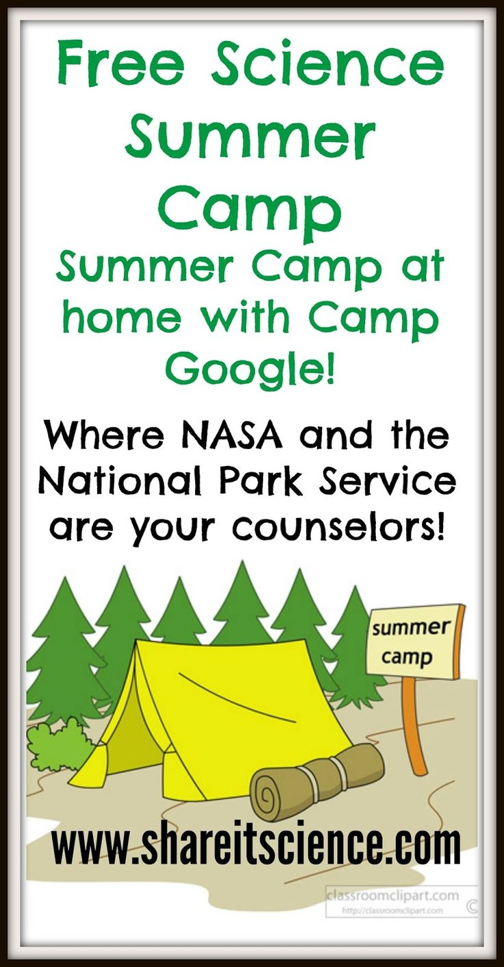 Share it! Science News : Free Science Activities For All with Camp Google!