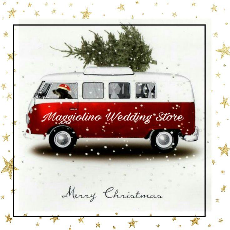 Maggiolino wedding Store  Augura a  tutti  Buon Natale  www.maggiolinowedding.com   #merrychristmas #vintage #onlyforpassion #maggiolinowedding #pulmino