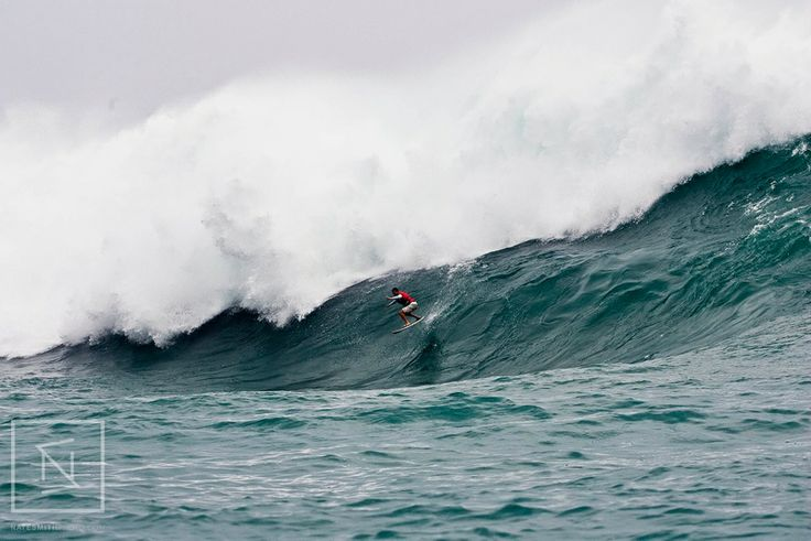 Jun Jo riding typhoons in Japan.