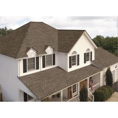 Gaf Timberline Hd Mission Brown Lifetime Shingles 33 3 Sq