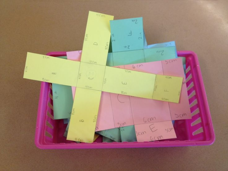 Surface area ideas. These are some great ideas I could use to teach surface area. I would use these as a fun activity for students to practice surface area.