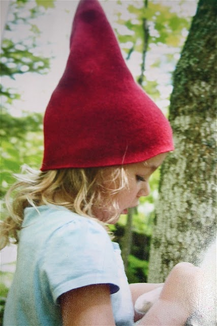 Felt gnome hat diy Fae wedding costume ideas for guests