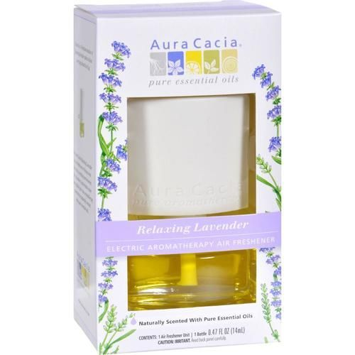 Aura Cacia Electric Air Freshener - Lavender - 3 Pack