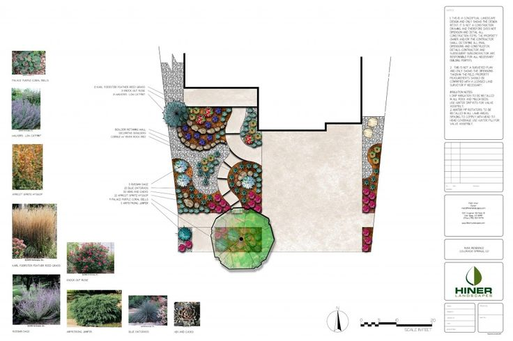 Landscape Design - Landscape Plans - Hiner Landscapes