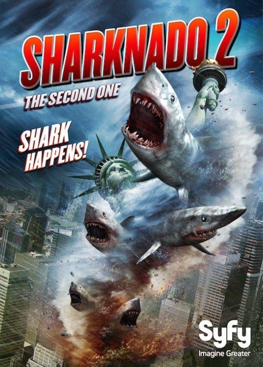 SHARKNADO 2:  The Second One http://www.imdb.com/title/tt3062074/