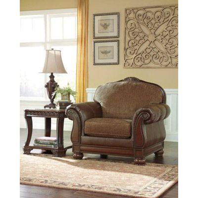 Best Beamerton Heights Chestnut Living Room Chair Bernie And 400 x 300