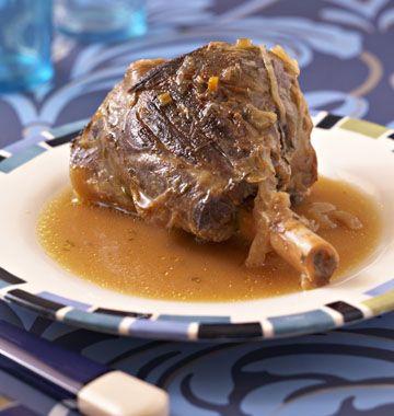 Photo de la recette : Souris d'agneau confites au miel et au thym