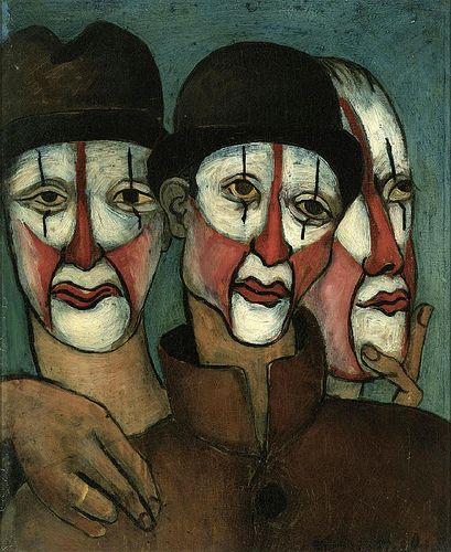 Francis Picabia - Dadaïsme - Trois Mimes - 1936