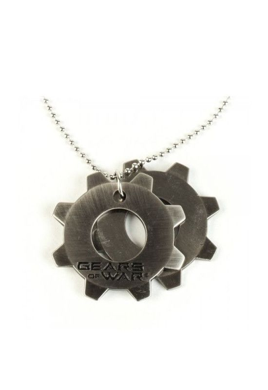 Necklace: Gears of War - Cog Tags