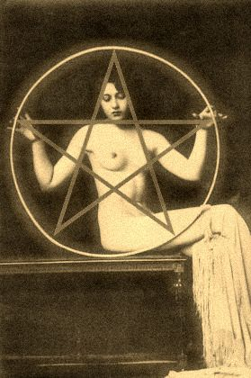 Magick Wicca Witch Witchcraft:  1920s #Witch.