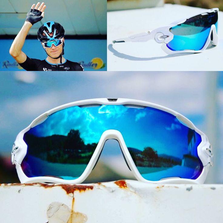 Jawbreaker Custom Chris Froome Oakley Sunglasses