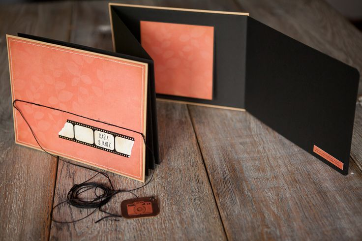 "manufaktura koloru - handmade accessories: # 224 - leporello ""Kasia & Janek"""