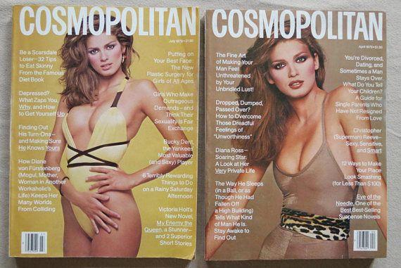 2 GIA Carangi COSMOPOLITAN Magazines JULY & April 1979