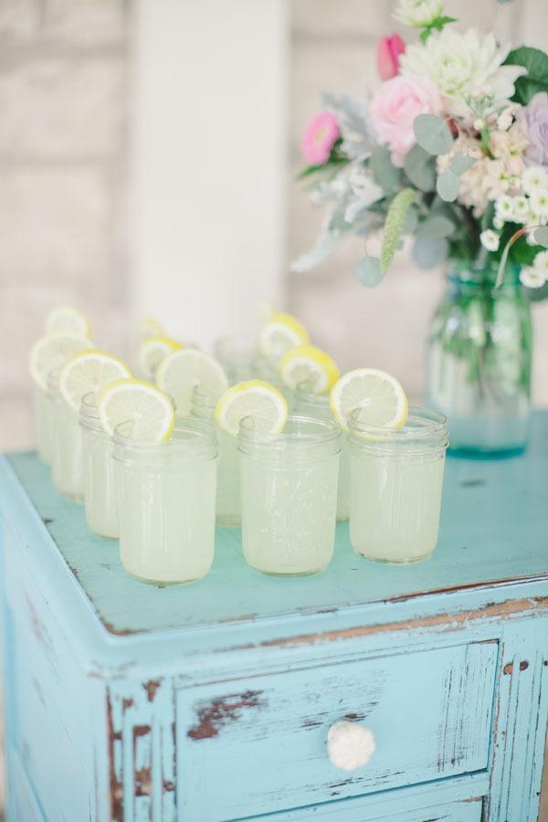 Lemonade mason jars