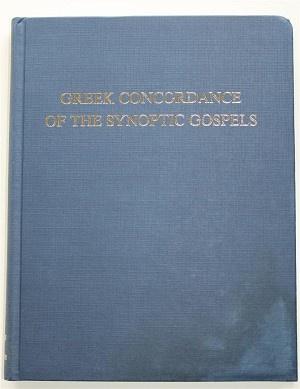 A Comparative Greek Concordance of the Synoptic Gospels Vol.2 and 3 / Collator and Complier James Leonard Burnham / Editor: Robert Lisle Lindsey