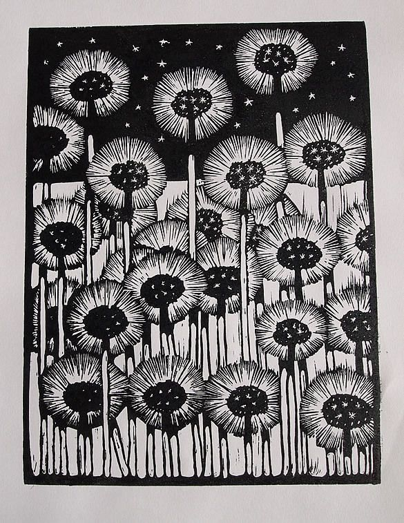 Dandelions''. Designed by Michael Torrance in Glasgow, August 2012