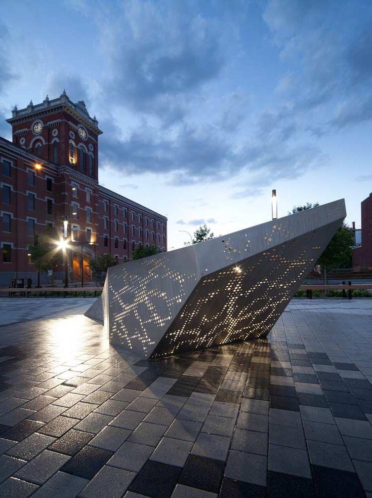 Joseph Venne Plaza by NIPPAYSAGE-Steve-Montpetit-07 « Landscape Architecture Works | Landezine