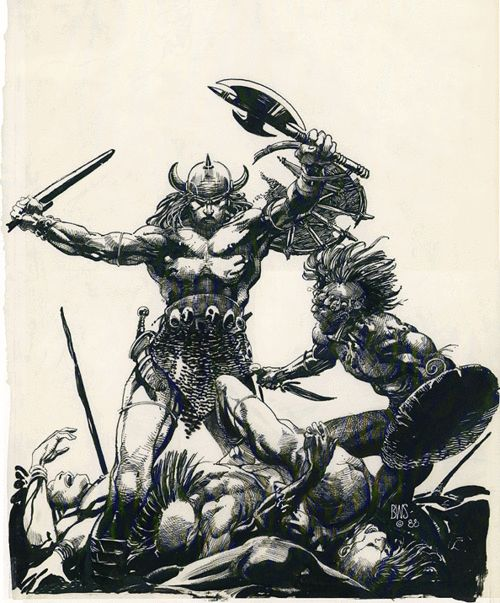 Conan the Warrior by Barry Windsor-Smith, 1988