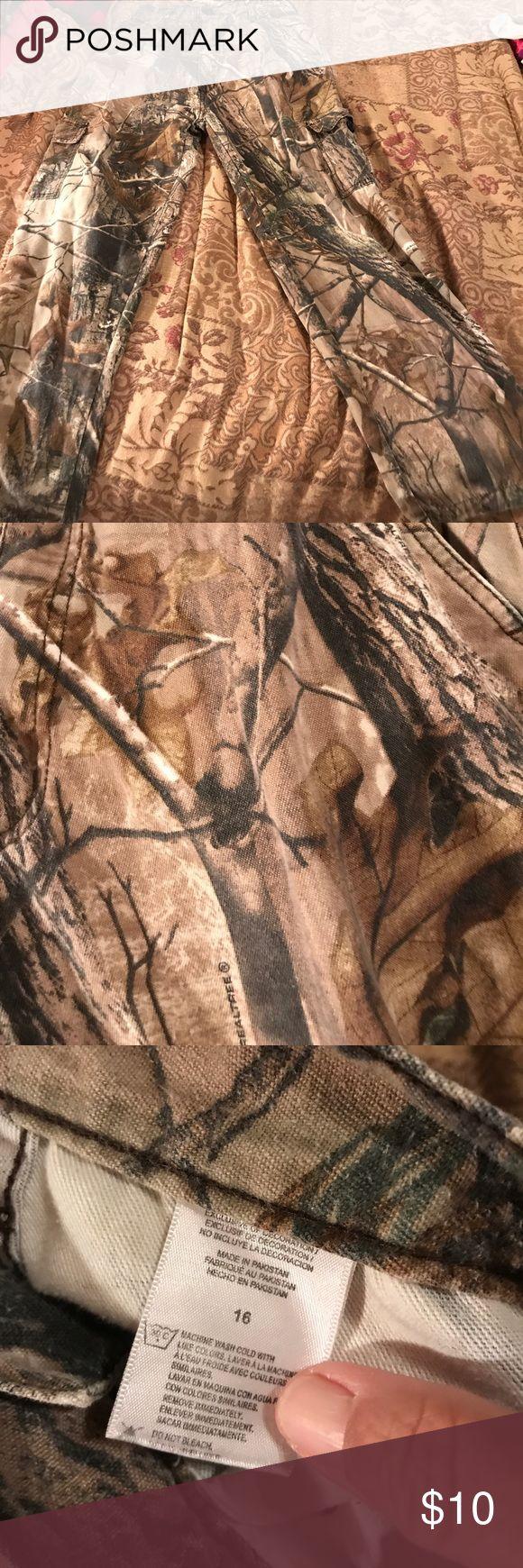 Boys Ranger Realtree pants Boys size 16 hunting pants Realtree Bottoms